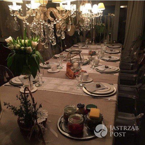 Kayah chwali się świątecznym stołem