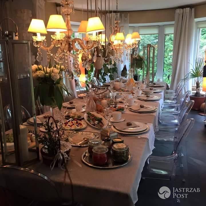 Wielkanocny stół Kayah