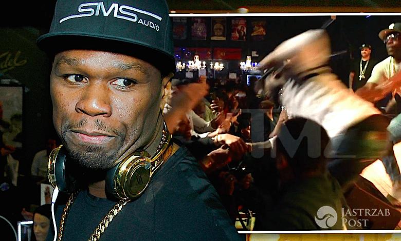 50 Cent uderzył fankę z pięści