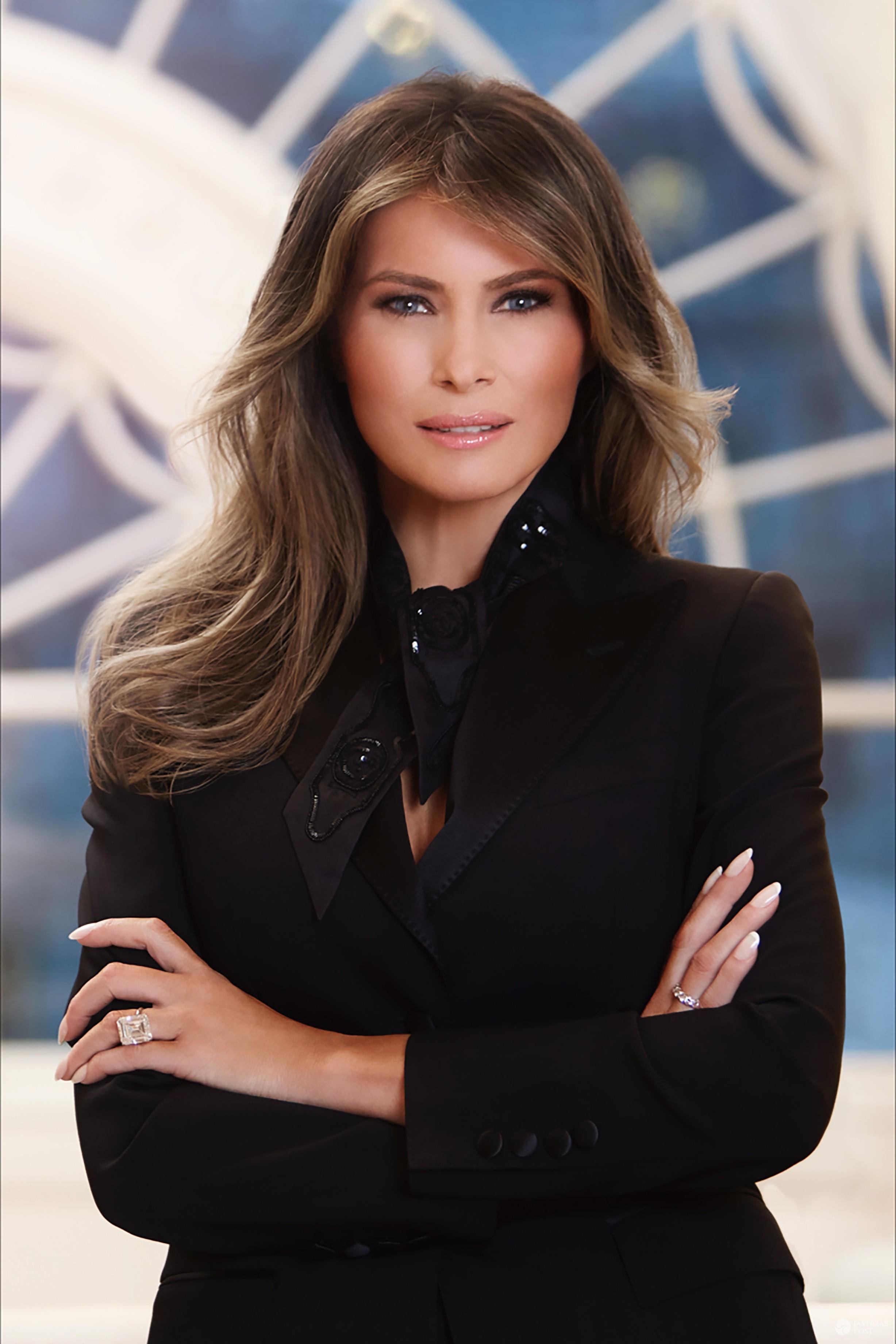 Oficjalny portret Melanii Trump