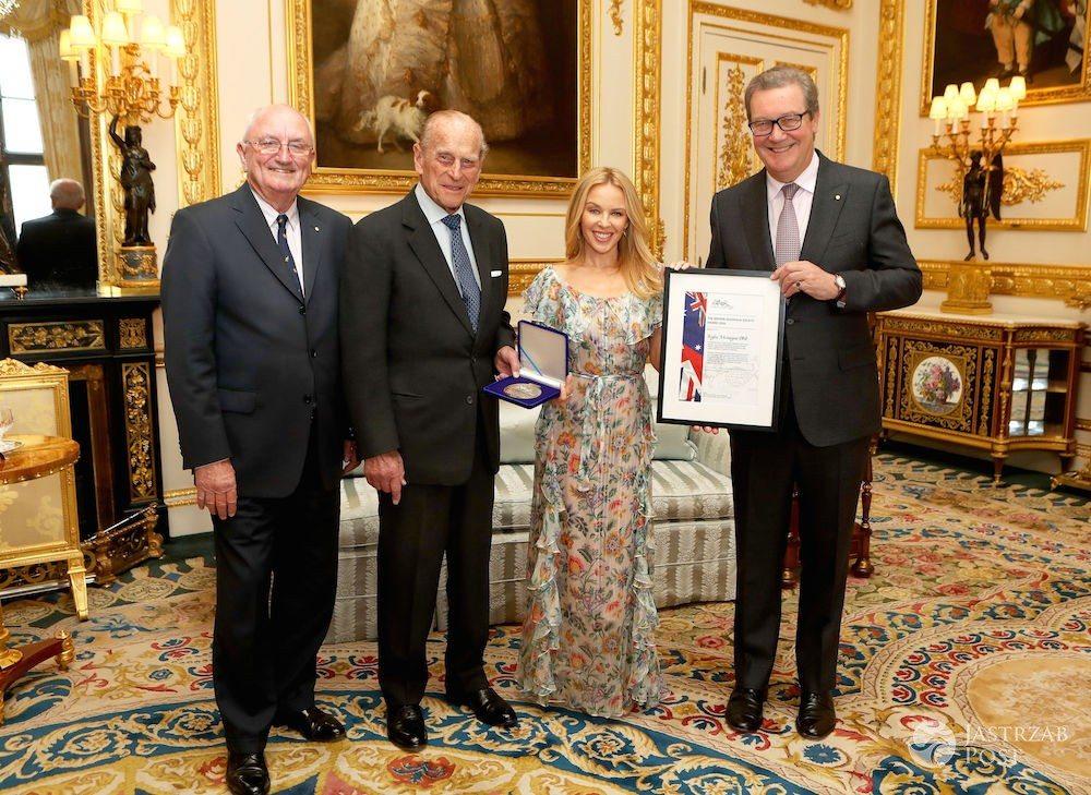 Kylie Minogue odebrała Nagrodę Społeczności Brytyjsko-Australijskiej OBE