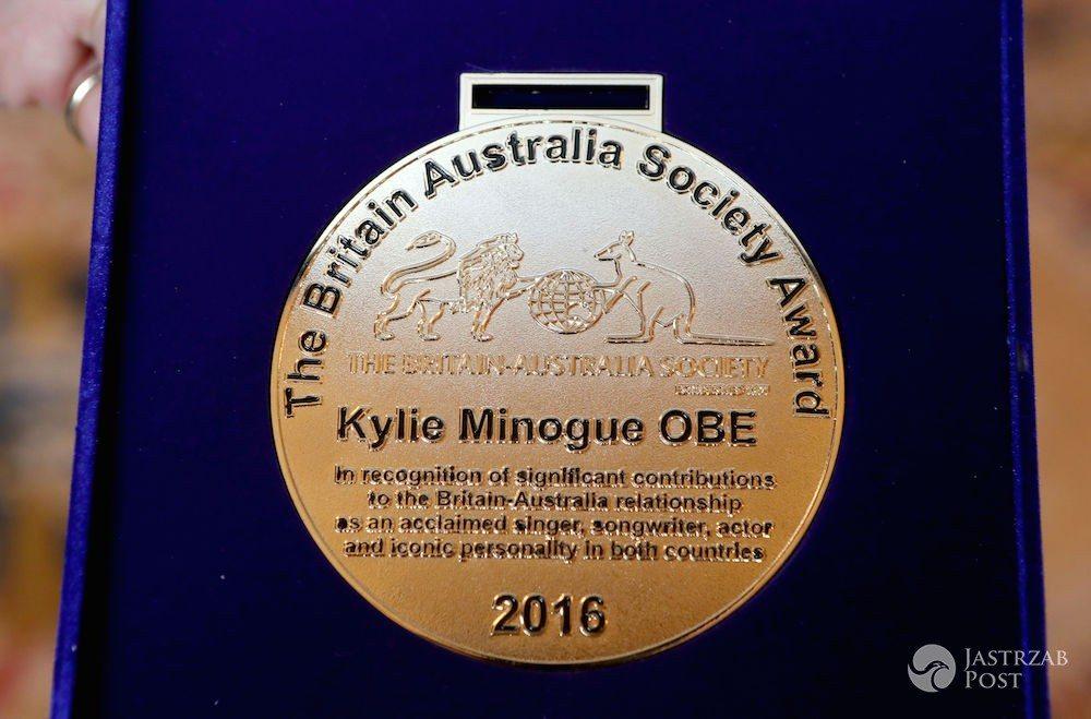 Nagroda Społeczności Brytyjsko-Australijskiej OBE dla Kylie Minogue