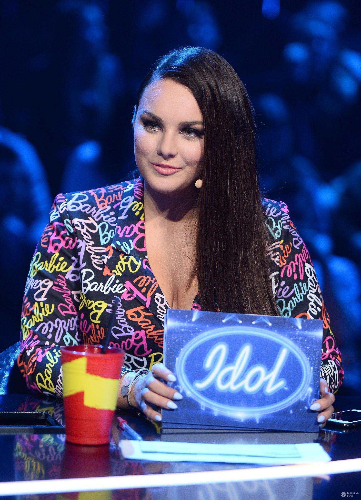 Ewa Farna w nowej fryzurze w Idolu