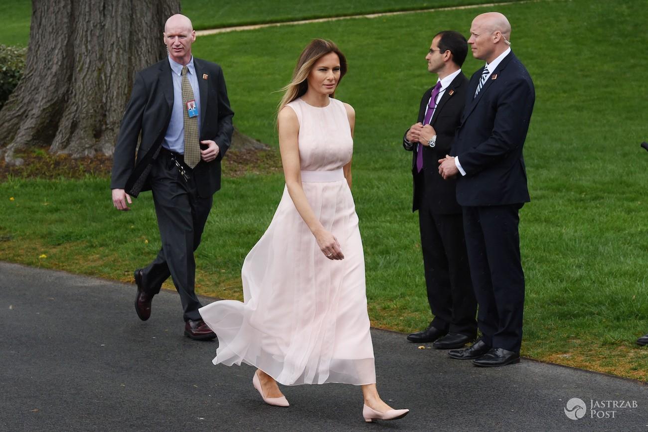 Wielkanoc 2017 w amerykańskiej rodzinie prezydenckiej - Melania, Donald i Baron