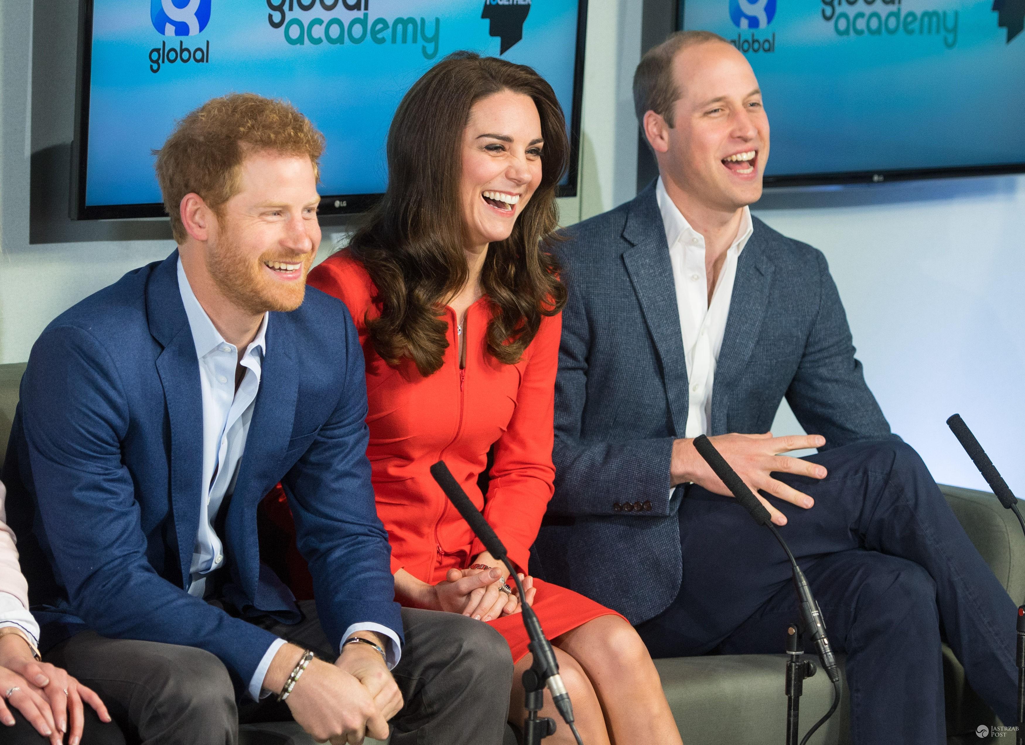 Książę Harry, książę William i księżna Kate wspierają kampanię Heads Together