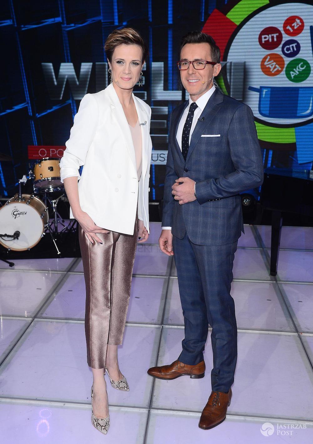 Paulina Chylewska i Maciej Kurzajewski - Wielki Test o Podatkach TVP 2017