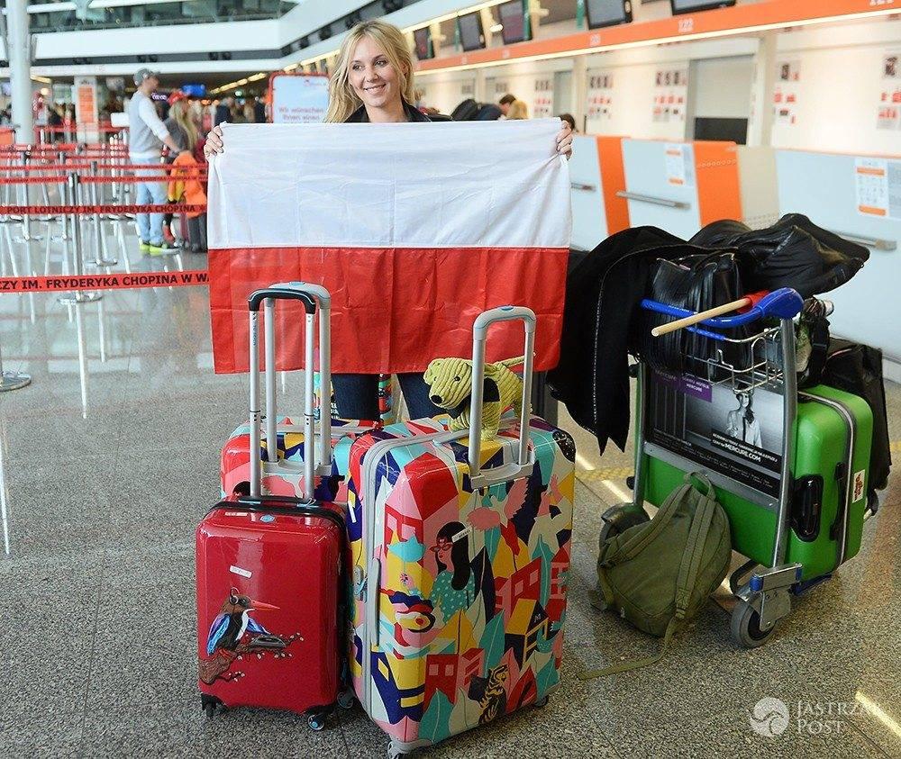 Kasia Moś do Kijowa zabrała dwie walizki