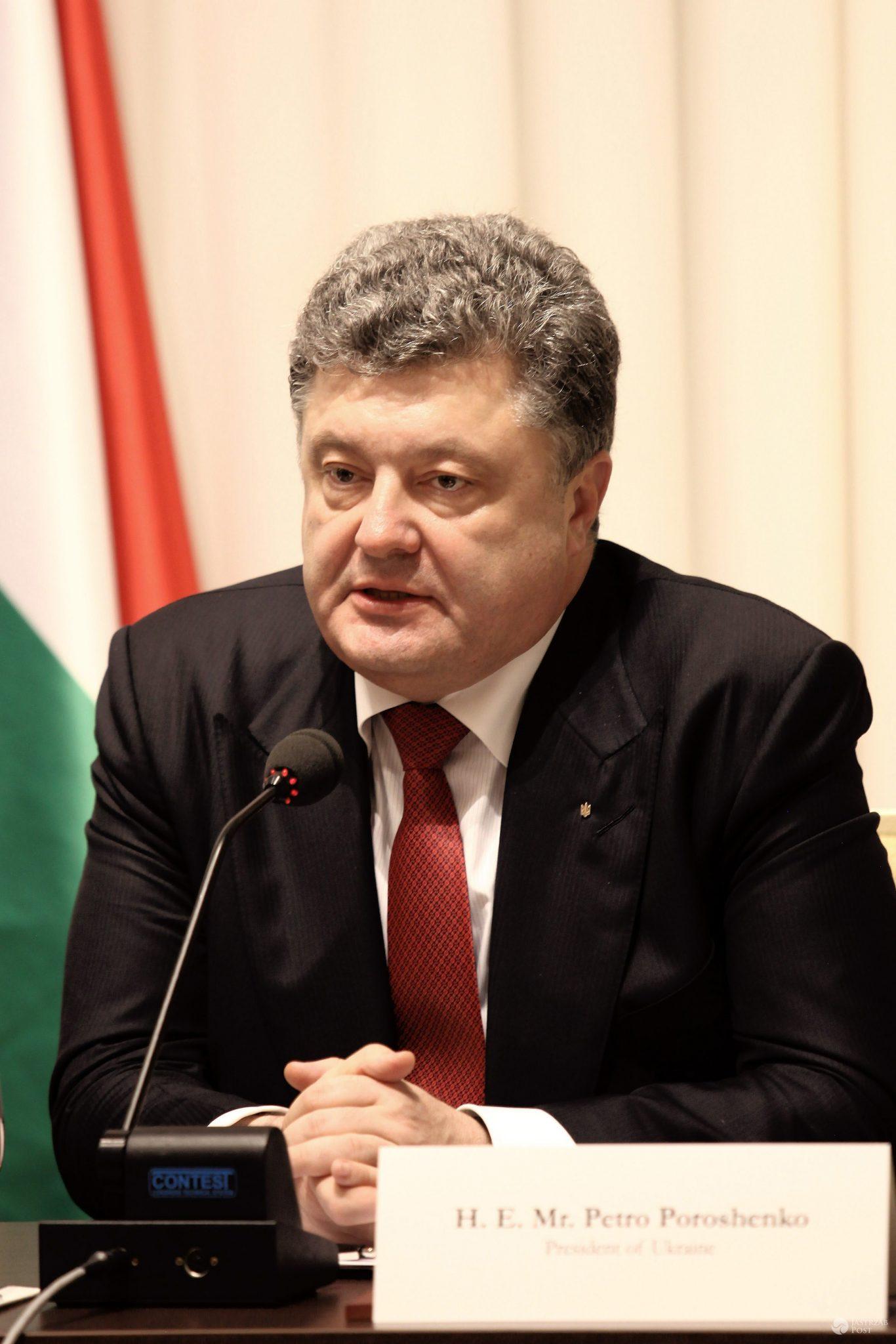 Petro Poroszenko o udziale Rosji w Eurowizji 2017