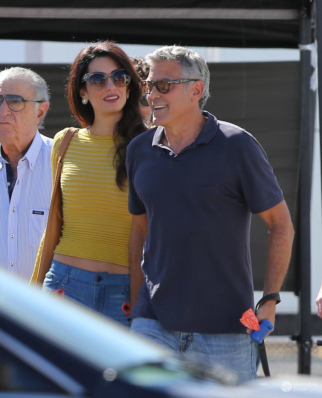 Amal Clooney urodzi w Londynie