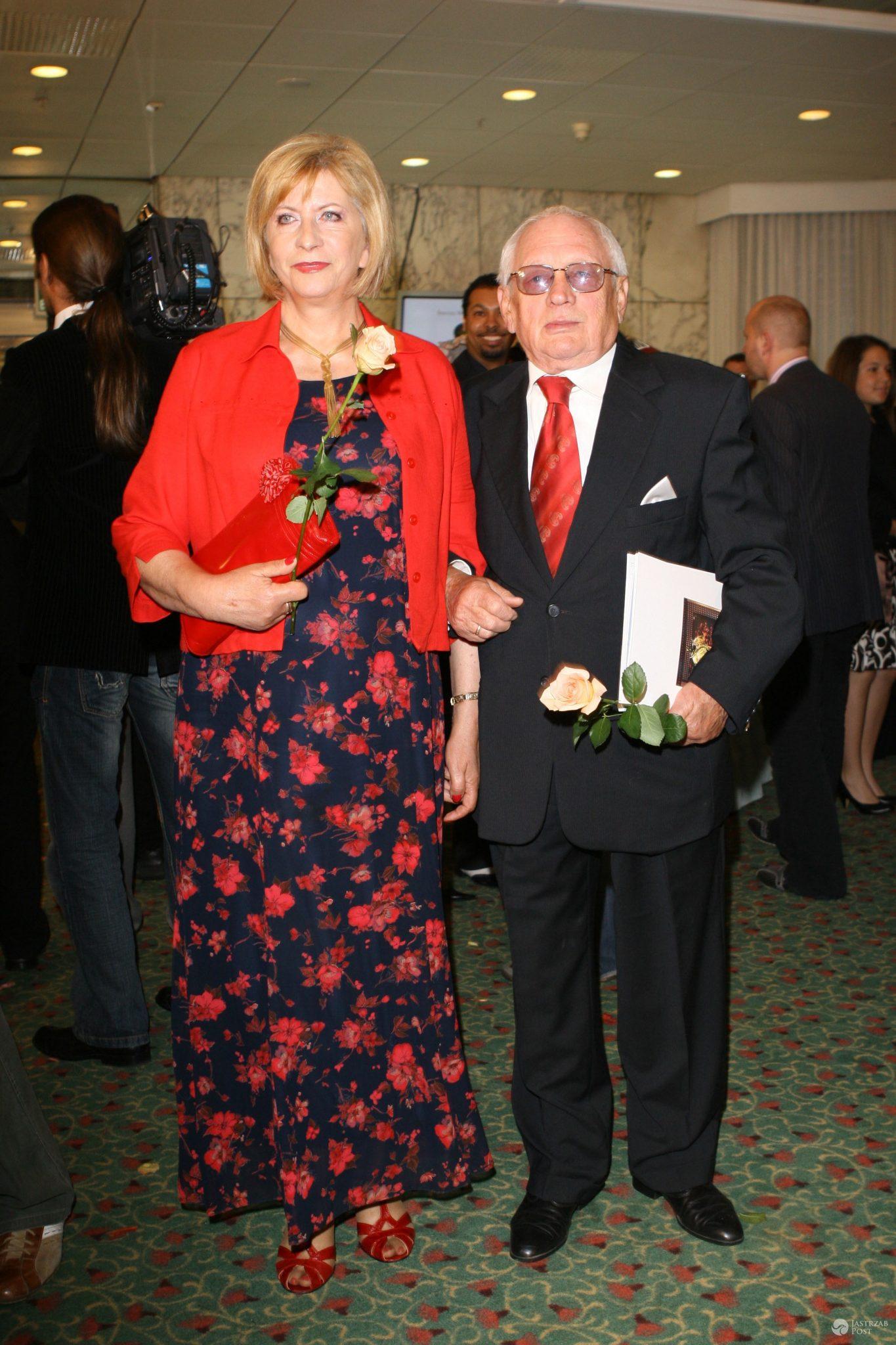 Witold Pyrkosz z żona Krystyną