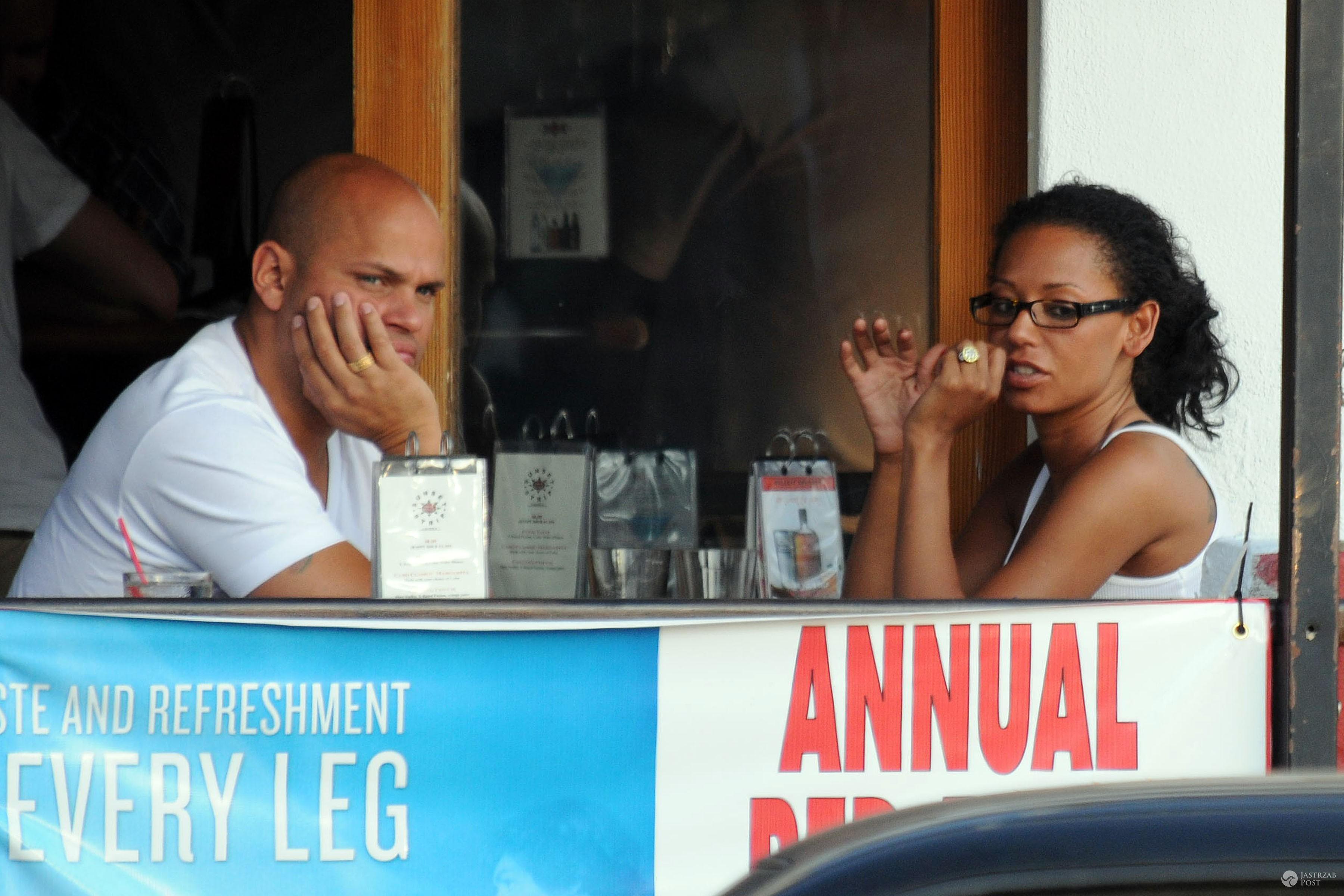 Stephan Belafonte odpowiada na zarzuty Mel B