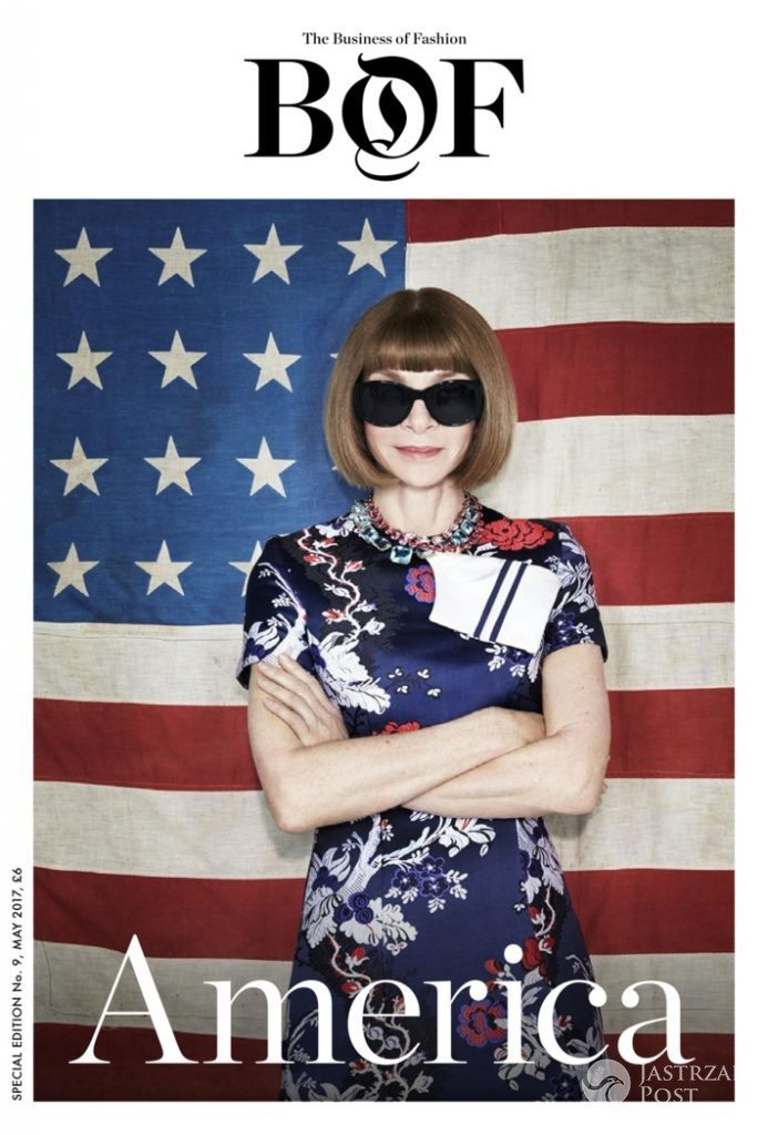 Anna Wintour na okładce Business of Fashion