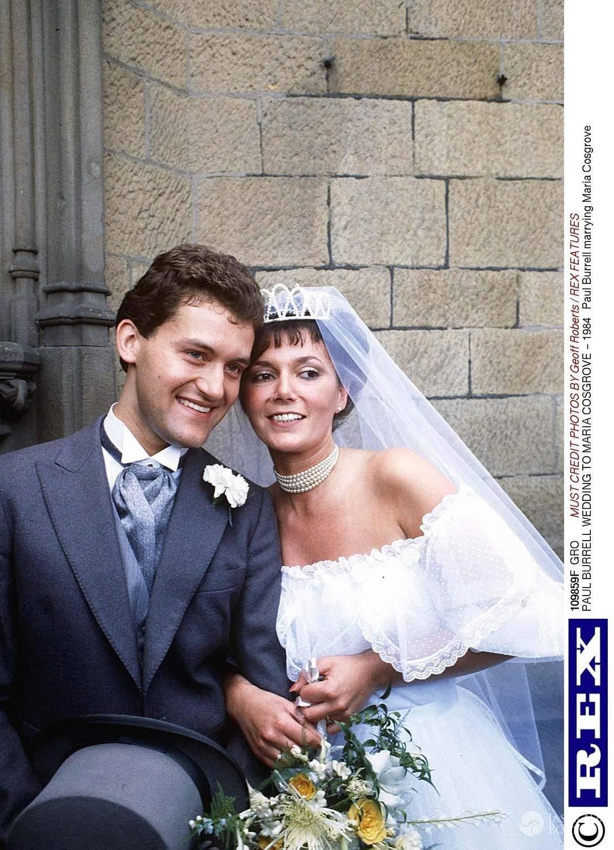 Paul Burrell ze swoją żoną Marią Cosgrove