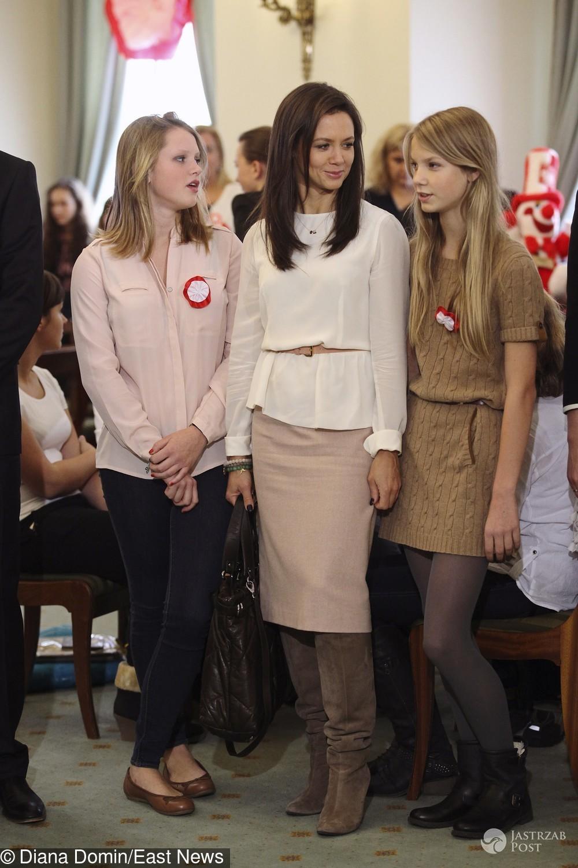 Kinga Rusin o edukacji córek Igi i Poli Lis