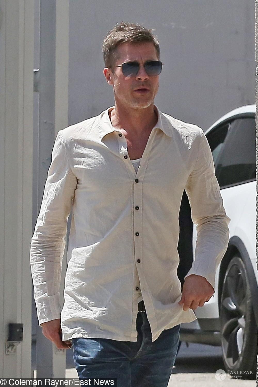 Chudy Brad Pitt. Czy jest chory?