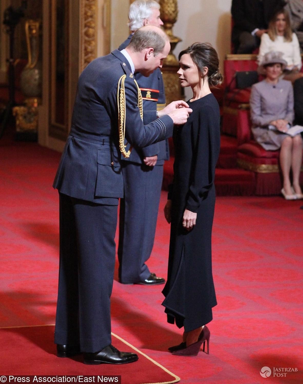 Książę William uhonorował Victorię Beckham Orderem Imperium Brytyjskiego