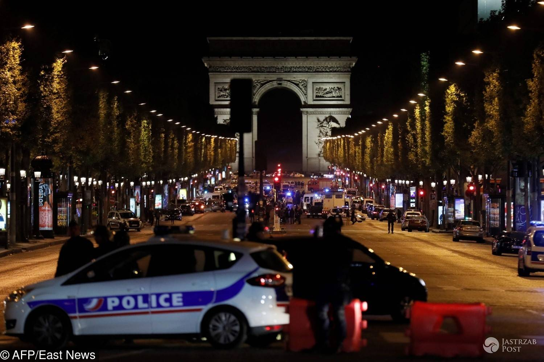 Strzały w Paryżu na Polach Elizejskich