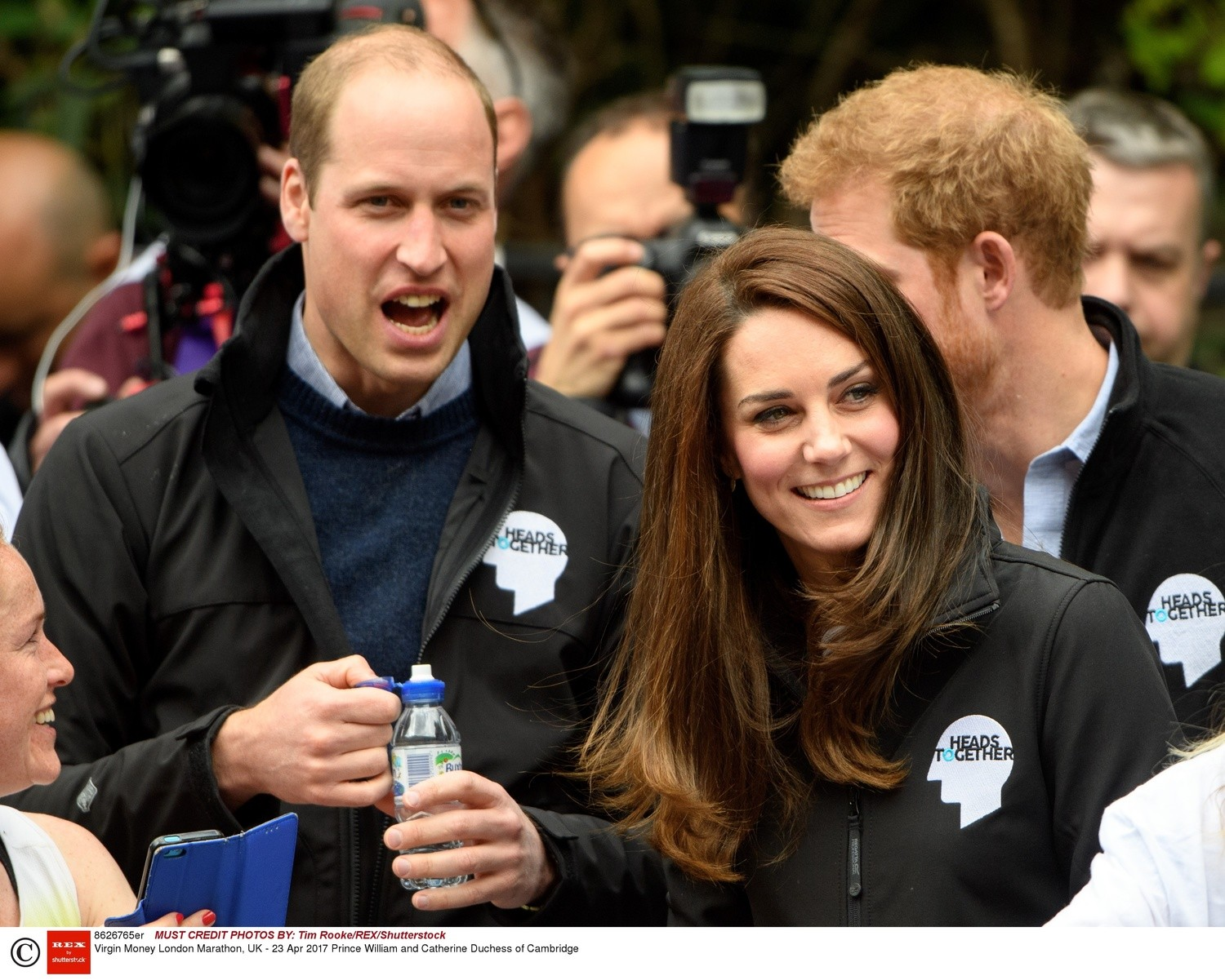 Księżna Kate i Książę William - Virgin Money London Marathon