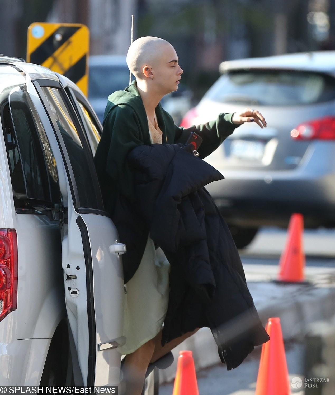Cara Delevingne zgoliła włosy do roli w filmie