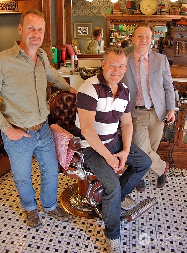 Graham Cooper i Paul Burrell wzięli ślub