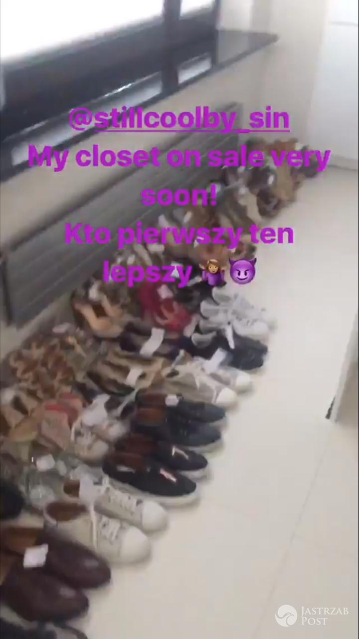 Kolekcja butów Sary Boruc jest na sprzedaż