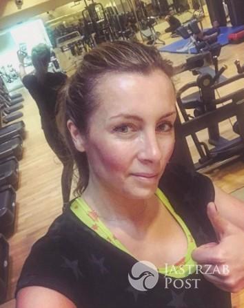 Karolina Ferenstein-Kraśko po treningu