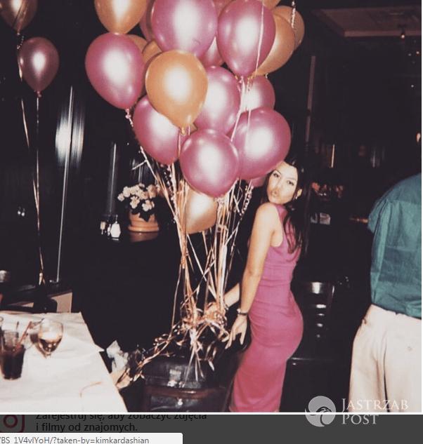 Kim Kardashian w urodzinowym poscie dla Kourtney