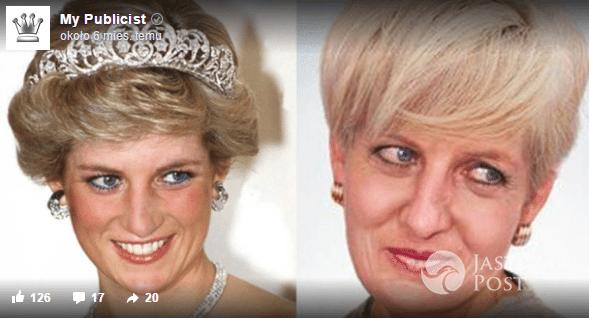 Księżna Diana kiedyś a dziś