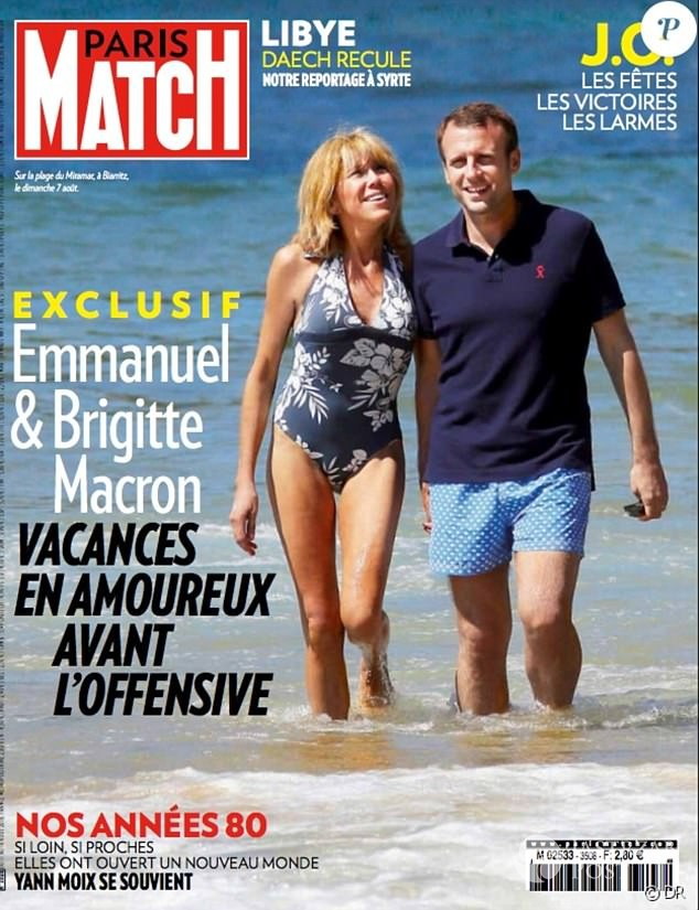 Emmanuel Macron i Brigitte Trogneux - różnica wieku