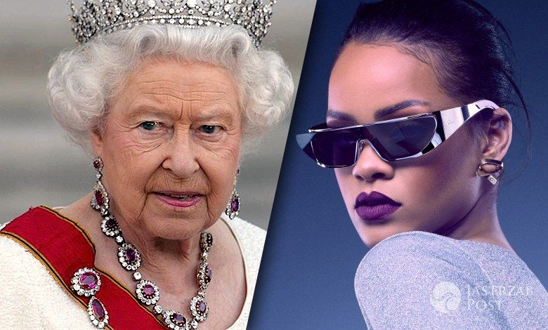 Rihanna obraziła Elżbietę II