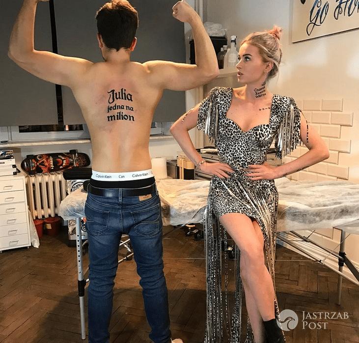 Jaki tatuaż ma Czarek Jóźwik?