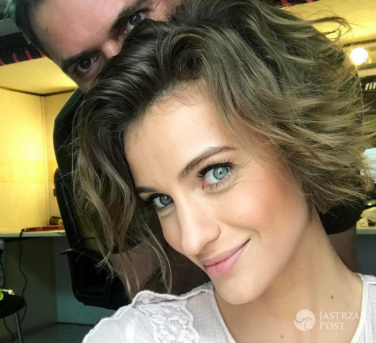 Renata Kaczoruk w nowej fryzurze