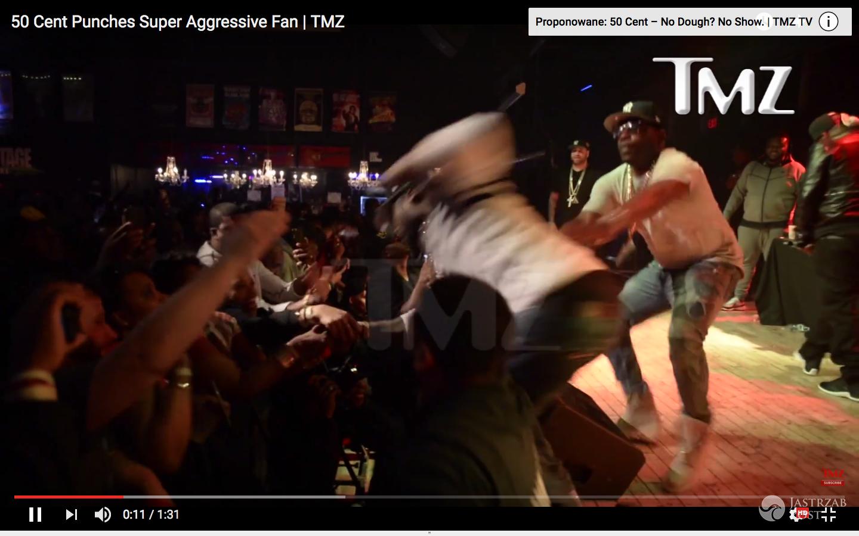 50 Cent zaatakował fankę na koncercie