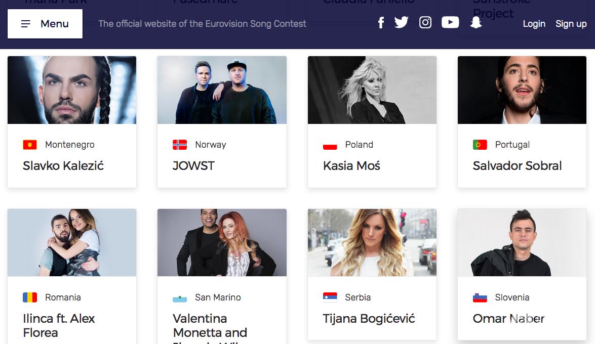 Eurowizja 2017 bez Rosji