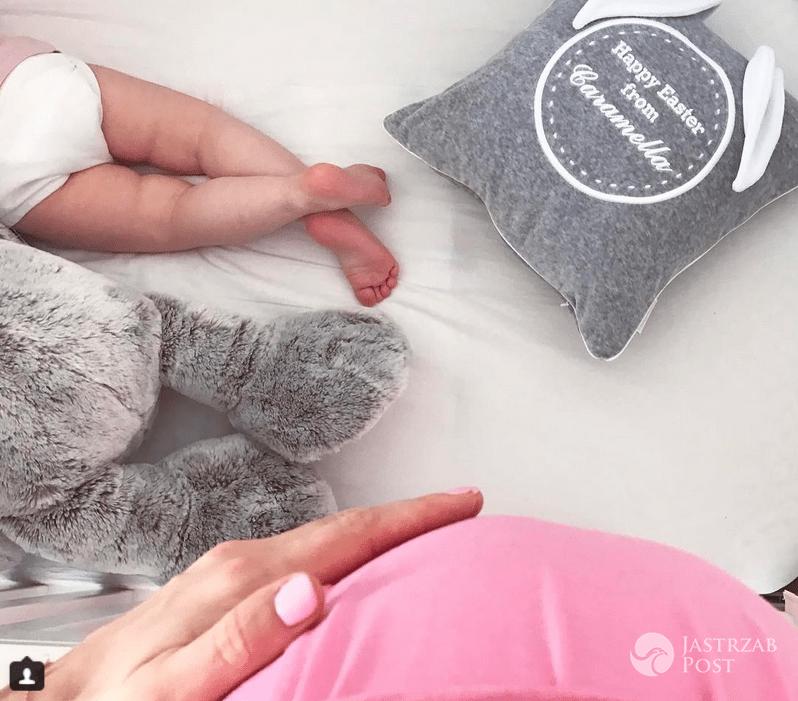 Zosia Ślotała w ciąży, nogi Ranii Konstancji - Wielkanoc 2017