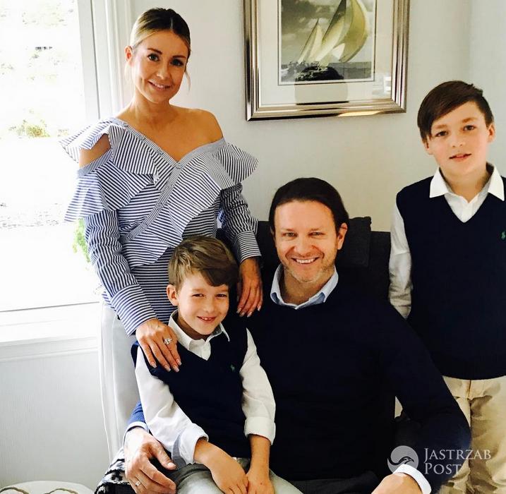 Rodzina Małgorzaty Rozenek - Wielkanoc 2017 (Instagram)