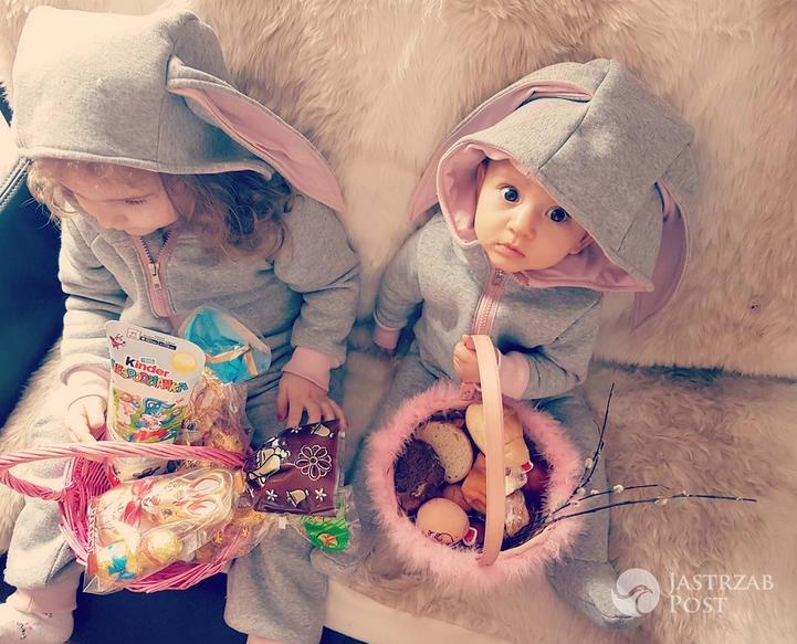 Dzieci Elizy i Trybsona - Wielkanoc 2017 (Instagram)