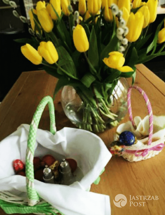 Małgorzata Socha - Wielkanoc 2017 (Instagram)