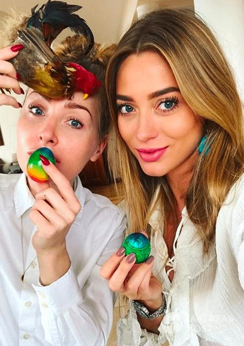 Wielkanoc 2017: Jak gwiazdy spędzają święta? Małgorzata Rozenek, Anna i Robert Lewandowscy, Cleo, Ola Kwaśniewska [DUŻO ZDJĘĆ] - Marcelina Zawadzka – Wielkanoc 2017 (Instagram)