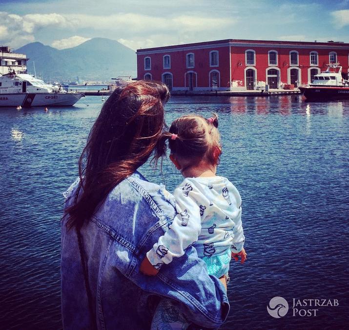 Anna Wendzikowska z córką - Wielkanoc 2017 (Instagram)
