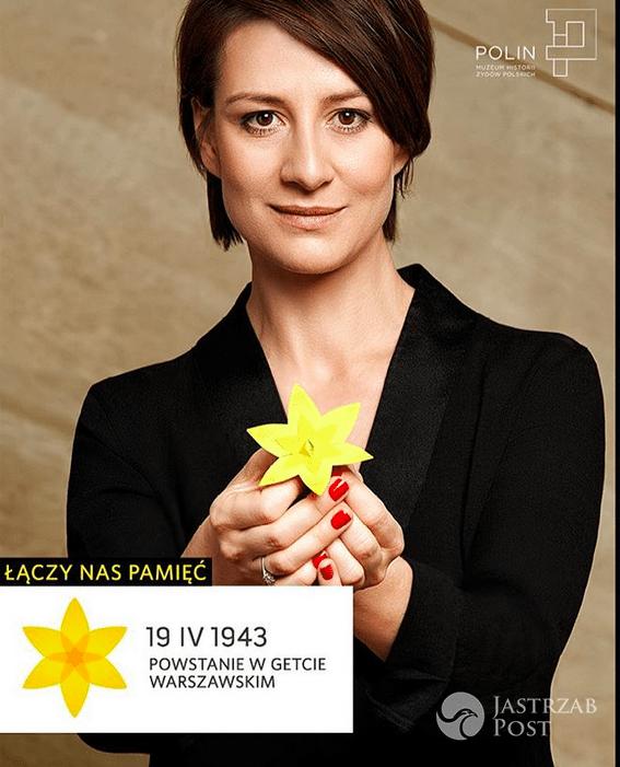 Maja Ostaszewska - Akcja Żonkile - 74 rocznica powstania w getcie warszawskim