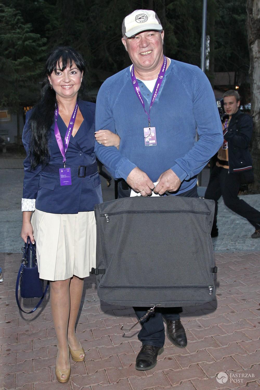 Ryszard Rynkowski z żoną Edytą na wakacjach w Hiszpanii