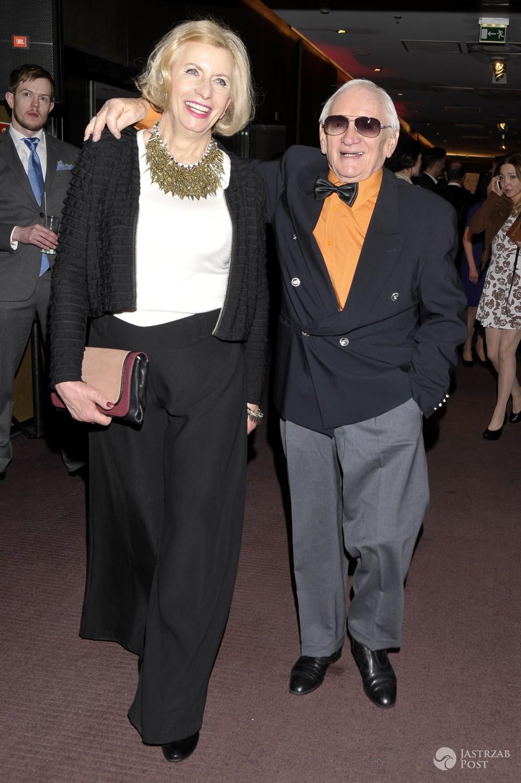Witold Pyrkosz z żoną Krystyną
