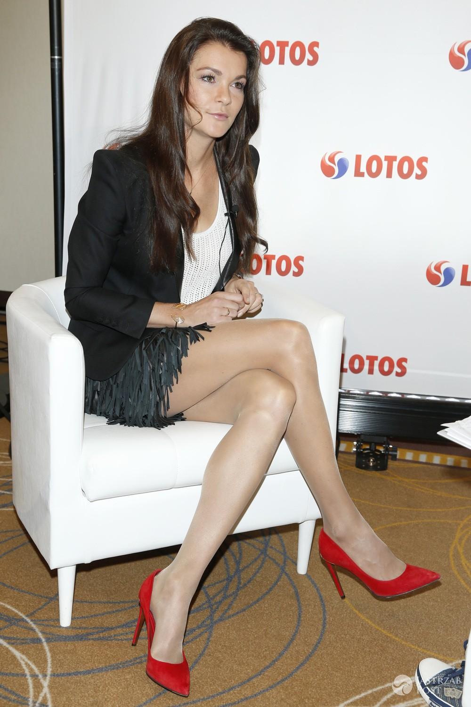 Seksowne nogi Agnieszki Radwańskiej