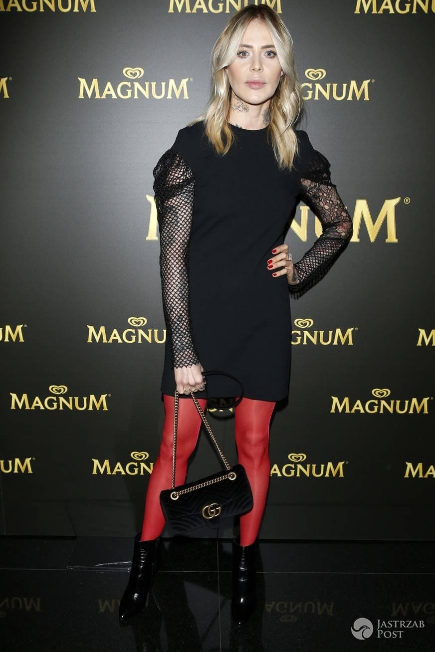 Maja Sablewska - pokaz La Mania dla Magnum - 25.04.2017
