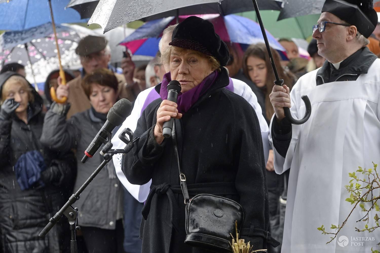 Teresa Lipowska - przemówienie na pogrzebie Witolda Pyrkosza