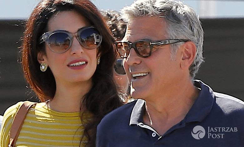 Poród Amal Clooney gdzie kiedy