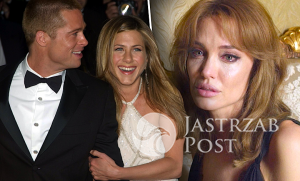 Jennifer Aniston i Brad Pitt kochankami, Angelina Jolie