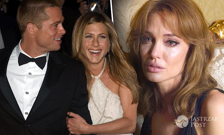Jennifer Aniston i Brad Pitt kochankami, Angelina Jolie