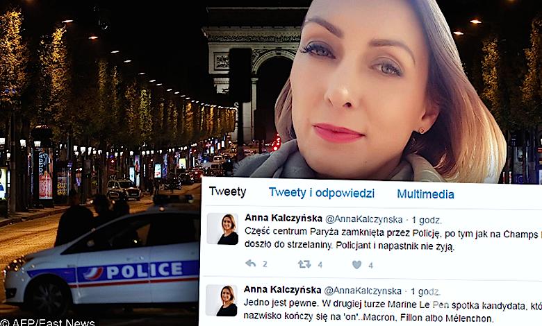 Anna Kalczyńska o zamachu w Paryżu